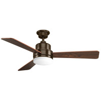 Progress P2538-20 Trevina 52 inch Antique Bronze with Medium Cherry Blades Ceiling Fan in Medium Cherry/Classic Walnut