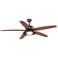 Progress P2564-2030K Montague 60 inch Antique Bronze with Walnut Blades Outdoor Ceiling Fan