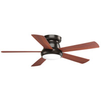 Progress P2572-2030K Vox 52 inch Antique Bronze with American Walnut Blades Ceiling Fan Progress LED