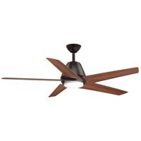 Progress P2582-2030K Gust 54 inch Antique Bronze with Graphite Blades Ceiling Fan