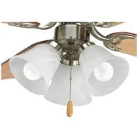 Progress P2600-09WB Signature LED Brushed Nickel Fan Light Kit