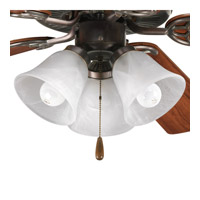 Progress Lighting AirPro 3 Light Fan Light Kit in Antique Bronze P2600-20 alternative photo thumbnail