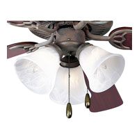 Progress Lighting AirPro 3 Light Fan Light Kit in Cobblestone P2600-33