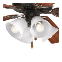 Progress Lighting AirPro 4 Light Fan Light Kit in Antique Bronze P2610-20