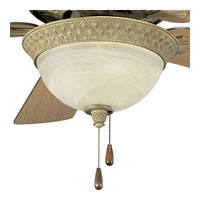 Progress Lighting Savannah 3 Light Fan Light Kit in Seabrook P2617-42