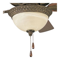 Progress Lighting Savannah 3 Light Fan Light Kit in Burnished Chestnut P2617-86