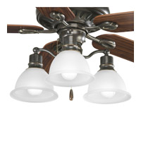 Progress Lighting Madison 3 Light Fan Light Kit in Antique Bronze P2623-20