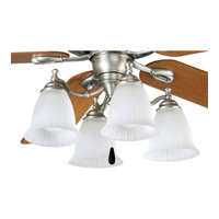 Progress Lighting Renovations 4 Light Fan Light Kit in Antique Nickel P2625-81