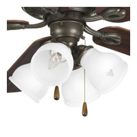 Progress Lighting Signature 4 Light Fan Light Kit in Antique Bronze P2627-20