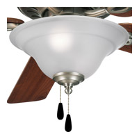 Progress Lighting Trinity 3 Light Fan Light Kit in Antique Nickel P2628-81 alternative photo thumbnail
