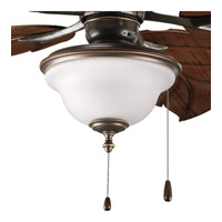Progress Lighting Ashmore 2 Light Fan Light Kit in Antique Bronze P2636-20