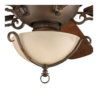 Progress Lighting Thomasville Santiago 3 Light Fan Light Kit in Roasted Java P2641-102