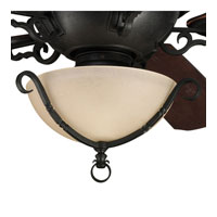 Progress Lighting Thomasville Santiago 3 Light Fan Light Kit in Forged Black P2641-80 photo thumbnail