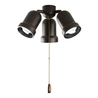 Progress Lighting AirPro 3 Light Fan Light Kit in Antique Bronze P2646-20