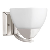 Appeal 1 Light 6 inch Brushed Nickel Bath Vanity Wall Light