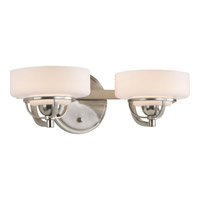Progress Lighting Torque 2 Light Bath Vanity in Brushed Nickel P2720-09WB
