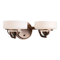 Progress Lighting Torque 2 Light Bath Vanity in Copper Bronze P2720-124WB