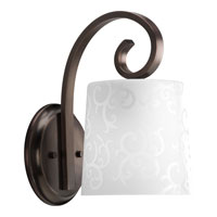 Progress Lighting Nicollette 1 Light Wall Bracket in Copper Bronze P2723-124
