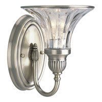 Progress Lighting Thomasville Roxbury 1 Light Bath Vanity in Classic Silver P2724-101