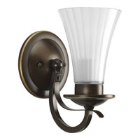Progress Lighting Melody 1 Light Wall Bracket in Oil Rubbed Bronze P2725-108