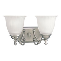 Progress Lighting Renovations 2 Light Bath Vanity in Antique Nickel P2730-81