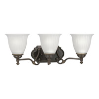 Progress Lighting Renovations 3 Light Bath Vanity in Forged Bronze P2731-77