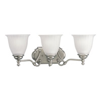 Progress Lighting Renovations 3 Light Bath Vanity in Antique Nickel P2731-81