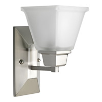 Progress Lighting North Park 1 Light Bath Vanity in Brushed Nickel P2733-09