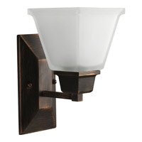 Progress P2733-74 North Park 1 Light 6 inch Venetian Bronze Bath Vanity Wall Light