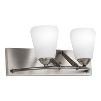 Progress Lighting Moments 2 Light Bath Vanity in Antique Nickel P2734-81