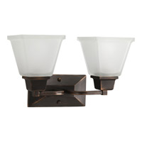 Progress Lighting North Park 2 Light Bath Vanity in Venetian Bronze P2738-74