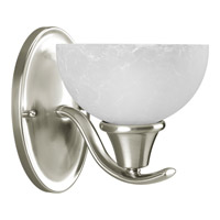Progress Lighting Sentura 1 Light Bath Vanity in Brushed Nickel P2739-09