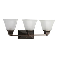 Progress Lighting North Park 3 Light Bath Vanity in Venetian Bronze P2743-74