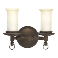 Progress Lighting Thomasville Santiago 2 Light Bath Vanity in Roasted Java P2753-102