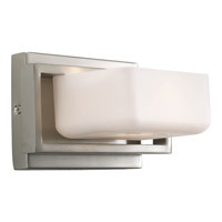 Progress Lighting Dibs 1 Light Bath Vanity in Brushed Nickel P2757-09WB