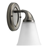 Progress Lighting Delta Lahara 1 Light Bath Vanity in Aged Pewter P2758-03