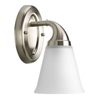 Progress Lighting Delta Lahara 1 Light Bath Vanity in Brushed Nickel P2758-09