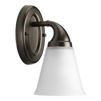 Progress Lighting Delta Lahara 1 Light Bath Vanity in Venetian Bronze P2758-74