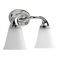 Progress Lighting Delta Lahara 2 Light Bath Vanity in Polished Chrome P2759-15