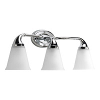 Progress Lighting Delta Lahara 3 Light Bath Vanity in Polished Chrome P2760-15