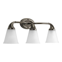 Progress Lighting Delta Lahara 3 Light Bath Vanity in Venetian Bronze P2760-74