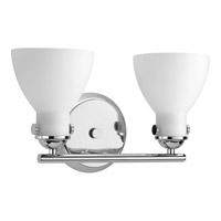 Fuller 2 Light 15 inch Polished Chrome Bath Vanity Wall Light
