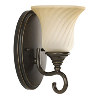 Progress Lighting Kensington 1 Light Bath Vanity in Forged Bronze P2783-77