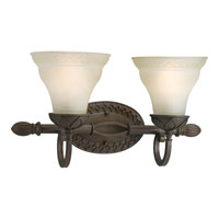 Progress Lighting Sanabria 2 Light Bath Vanity in Roasted Java P2790-102