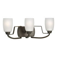 Progress Lighting Wisten 3 Light Bath Vanity in Antique Bronze P2796-20