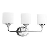 Lynzie 3 Light 24 inch Polished Chrome Bath Vanity Wall Light