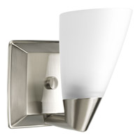 Progress Lighting Delta Rizu 1 Light Bath Vanity in Brushed Nickel P2805-09