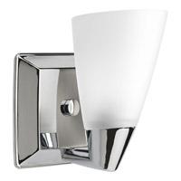 Progress P2805-15 Rizu 1 Light 6 inch Polished Chrome Bath Vanity Wall Light