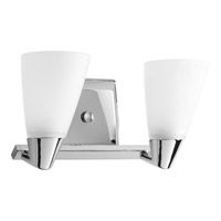 Progress Lighting Delta Rizu 2 Light Bath Vanity in Polished Chrome P2806-15