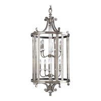 Progress Lighting Thomasville Roxbury 10 Light Hall & Foyer in Classic Silver P2816-101